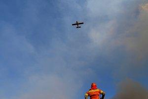 Forest fire Lloc Nou de Sant Jeroni