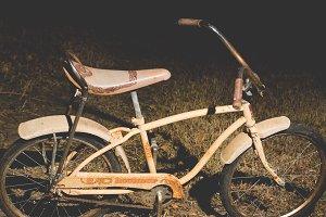 Vintage Banana Seat Bike