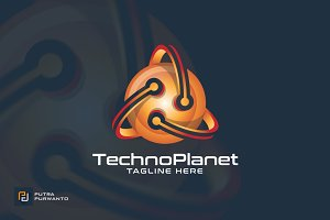 Techno Planet - Logo Template