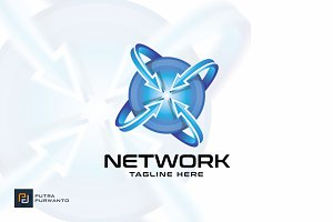 Network - Logo Template