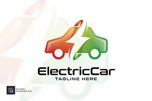 Electric Car - Logo Template