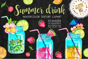 Summer drink clipart