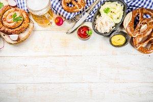 Oktoberfest food concept