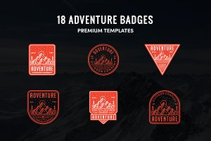 18 PREMIUM ADVENTURE BADGE