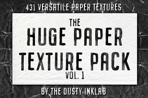 The Huge Paper Texture Pack Vol. 1