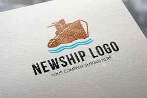 New Ship Logo Template