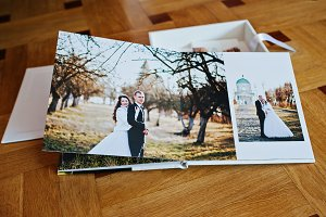 Wedding book and album