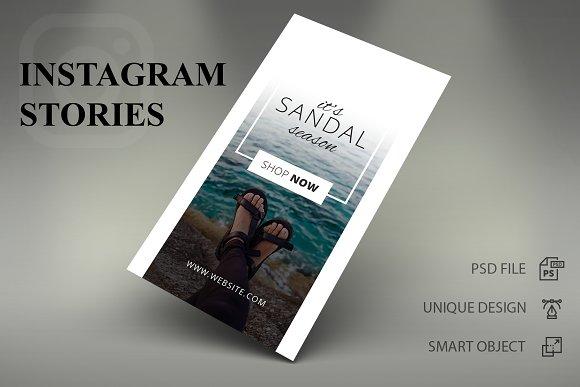 Instagram Stories - Shop