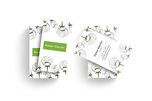 Elegant Floral Business Card v2.1