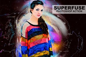 Superfuse Photoshop Action