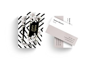 Luxury Floral Business Card v1.1