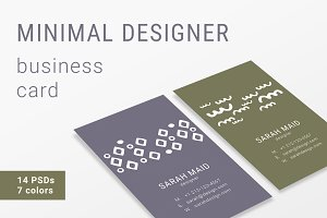 Minimal Designer Business Cards
