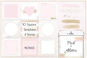 Social Media/Instagram/Pink+ Glitter