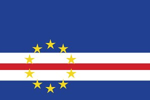 Vector of Cape Verde flag.