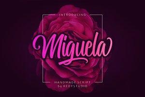Miguela Script - 39% Off