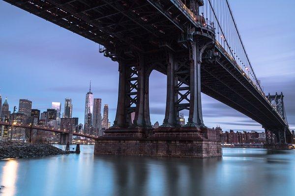 Industrial Stock Photos: MentlaStore - Manhattan bridge