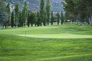 Golf course in Arizona