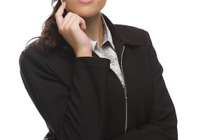 Professional Mixed Race Businesswoma