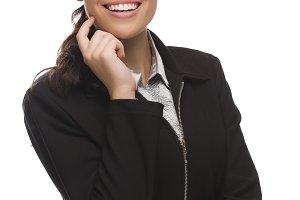 Confident Mixed Race Businesswoman I