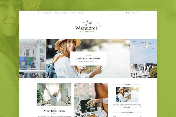Wanderer - Travel WordPress Theme