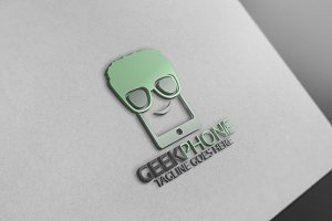 Geek Phone Logo Version2