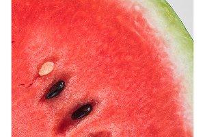 watermelon texture, copy space