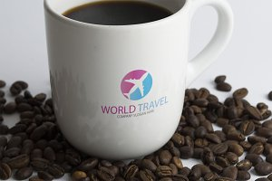 World Travel Logo Template