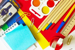 Office supplies and stationery isola