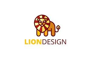 Lion Design Logo