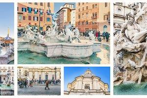Piazza Navona Photo Set