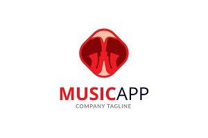 Music App Logo