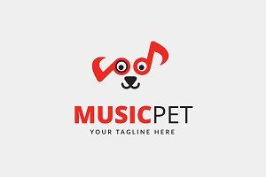 Music Pet Logo
