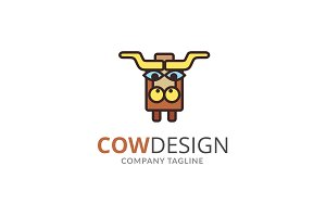 Cow Design Logo