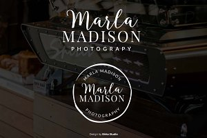 Marla Madison Premade logo