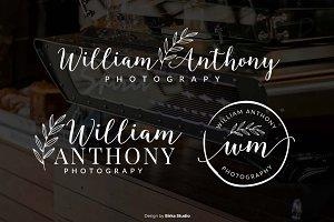 Wiliam Anthony Premade Logo