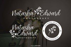 Natasha Edward Premade Logo