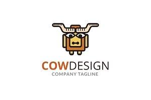Cow Design Logo