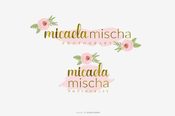 Micaela Mischa Premade Logo
