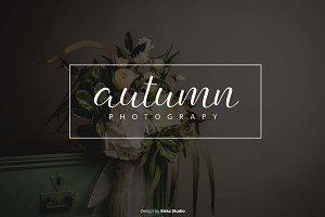 Autumn Premade Logo