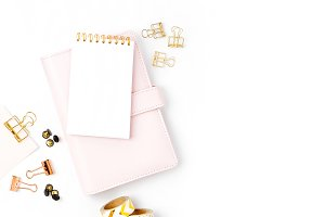 Women's styled planner