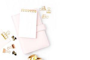 Women's styled planner