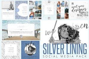 Silver Lining Social Media Pack - 75