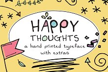 Happy Thoughts by  in Display Fonts