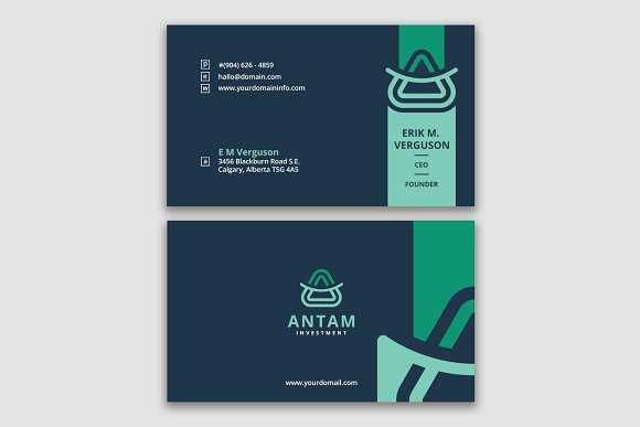 smart business card template business card templates creative market - Business Card Display