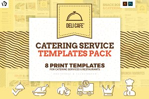 Catering Service Templates Pack