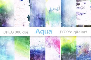 Watercolor Paper Watercolor Textures