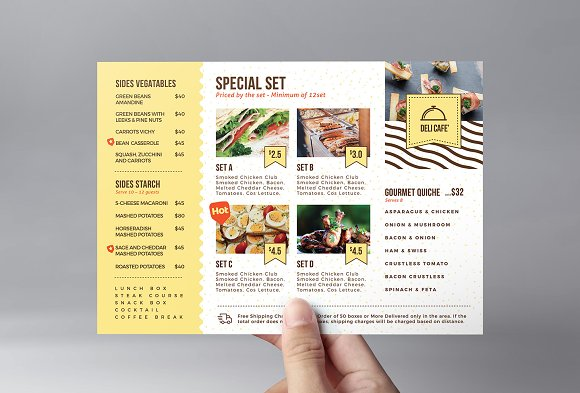 catering service flyer template flyer templates creative daddy