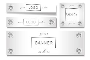 Banner Set with Eyelets