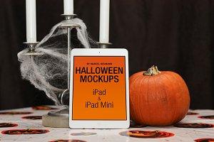 Halloween iPad & iPad mini mockups