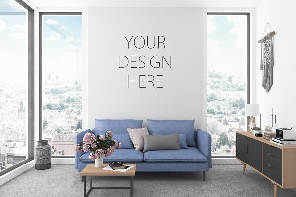 interior design mockup free download